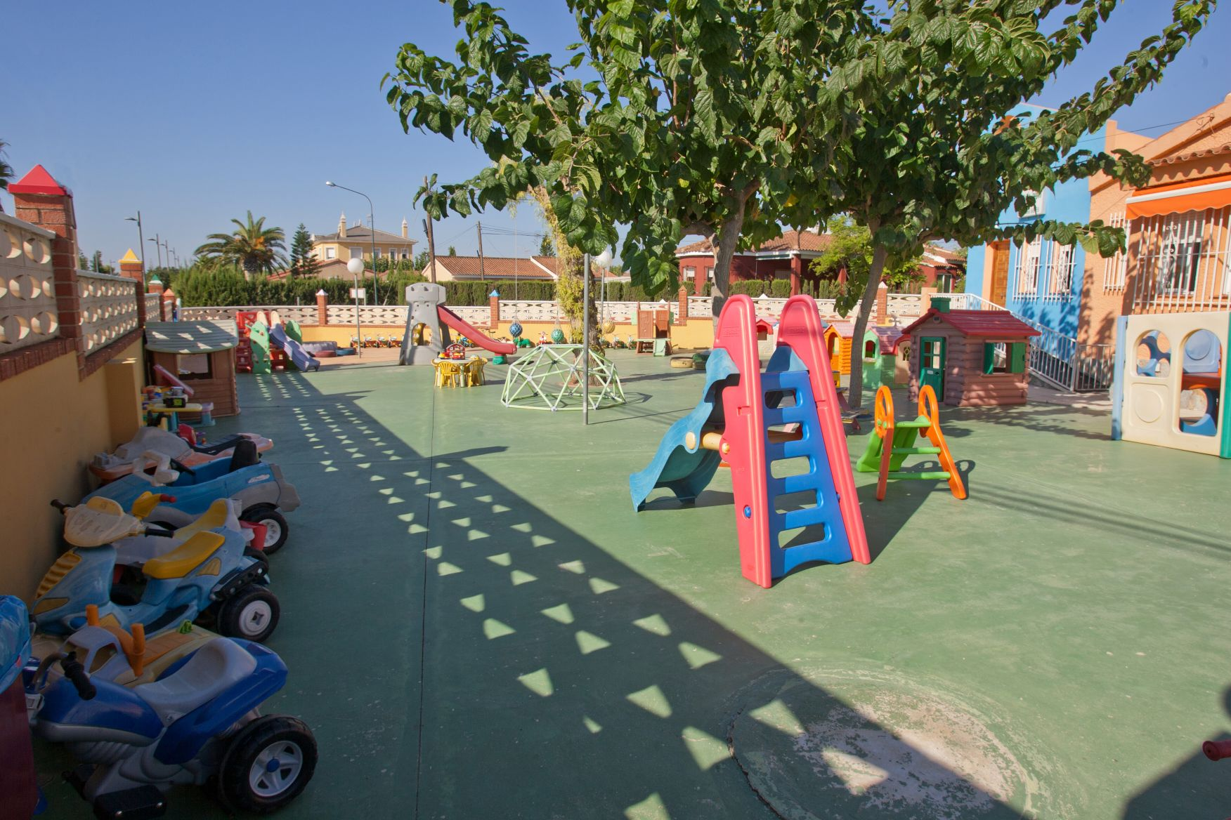 patio de la escuela
